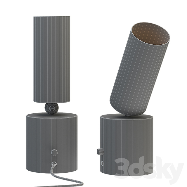 Cylinder Up table Light By Apparatus