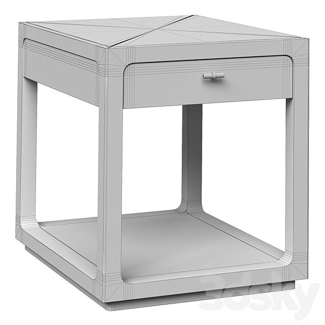 Cupboard Fusion End Table Caracole