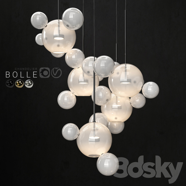 Chandelier Giopato & Coombes Bolle 24 lights