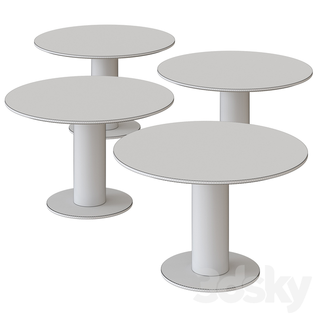 Hurricane Table by NV Gallery
