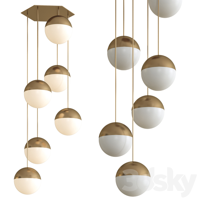 Goldfinger Pendant Lamp by NV Gallery