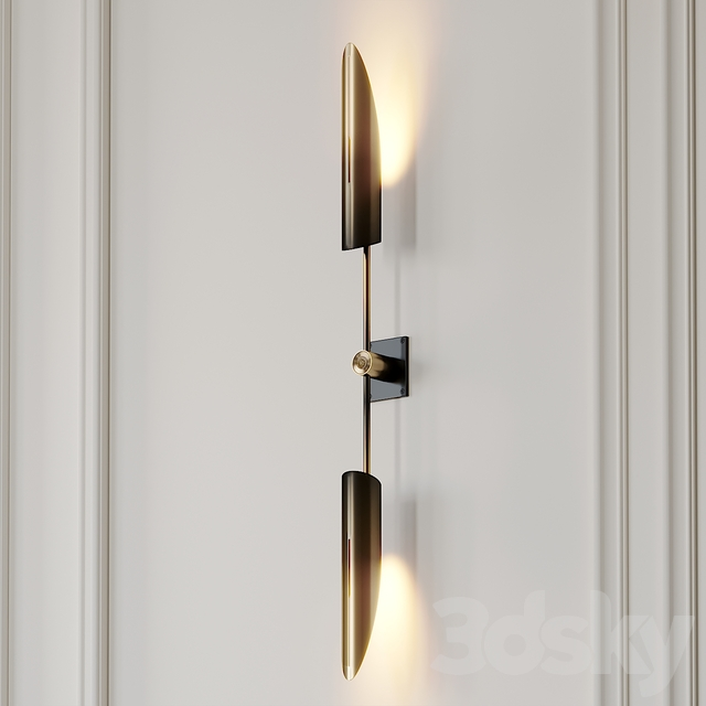VOYAGER 17 DUAL SCONCE by Allied Maker