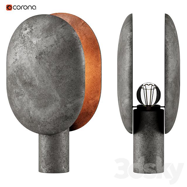 101 Copenhagen Clam Table Lamp