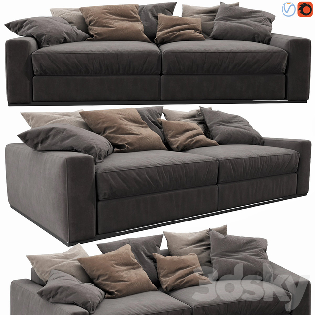 Flexform Beauty 2 Seater