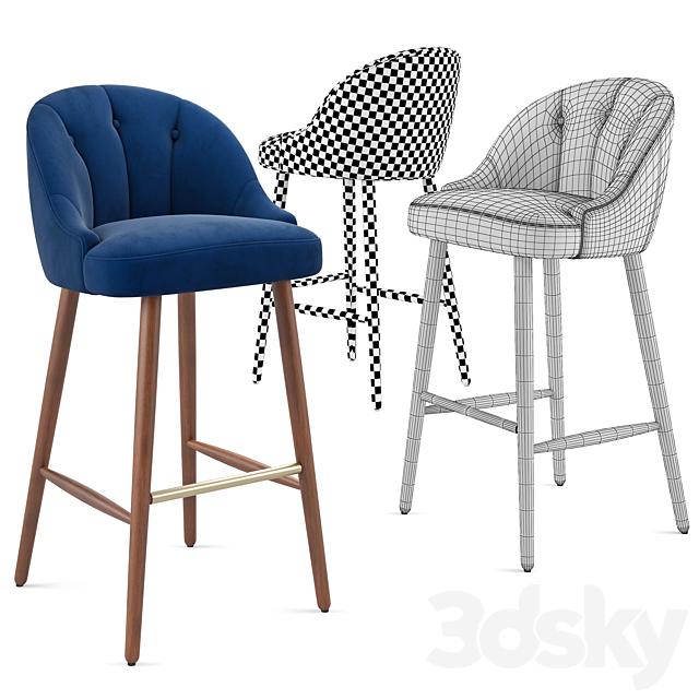 Made. Bar stool Margot