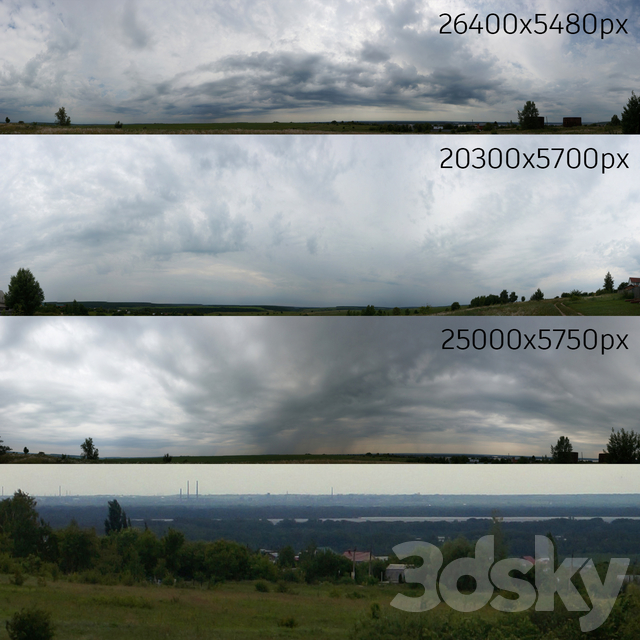 Panorama of the sky, collection No. 3