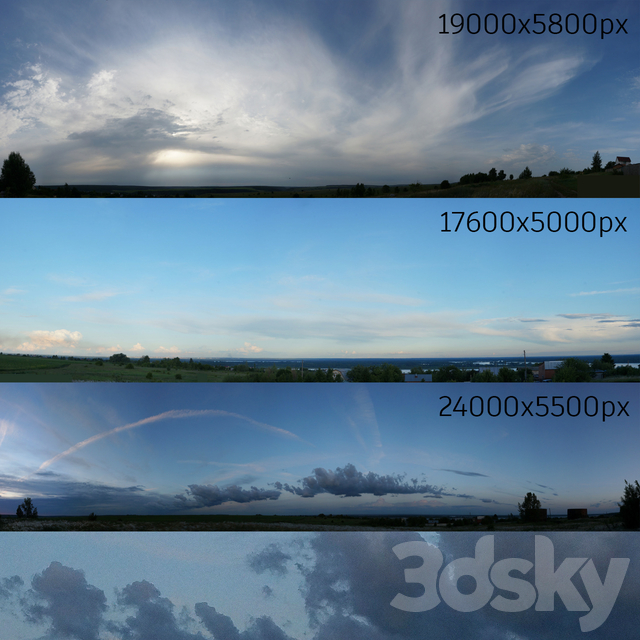 Panorama of the sky, collection No. 11
