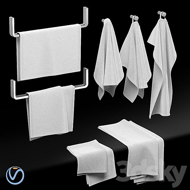 KITCHEN TOWELS WHITE