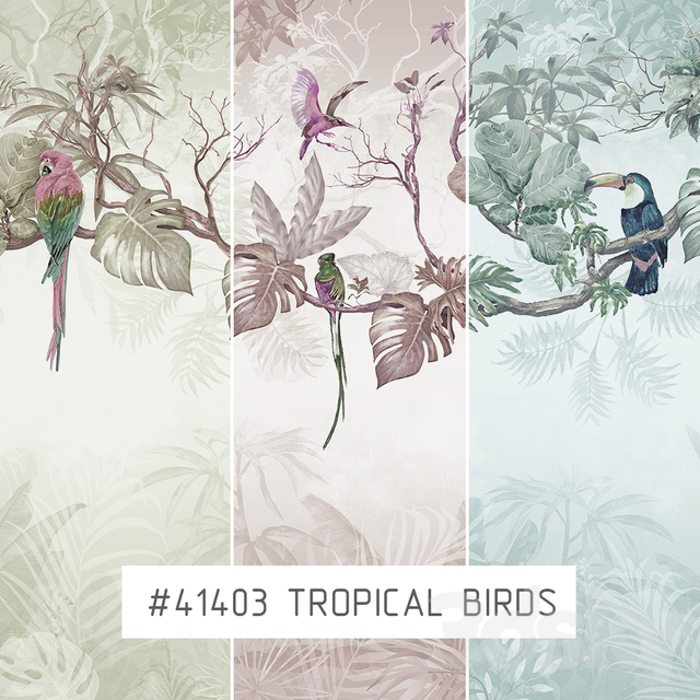 Creativille | Wallpapers | Tropical birds 41403