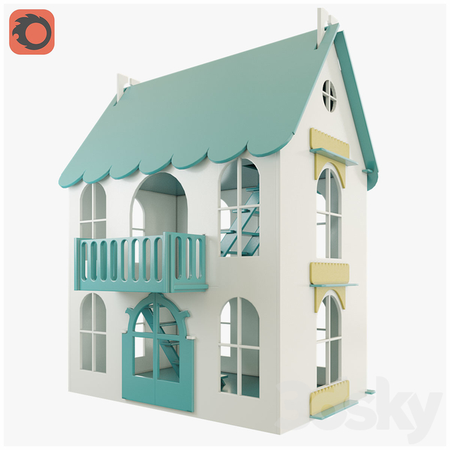 Woodlines Dollhouse Arina