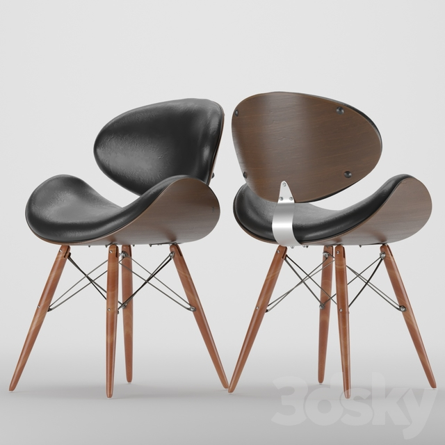 3d Models Chair Armen Living Cassie Dining Chair
