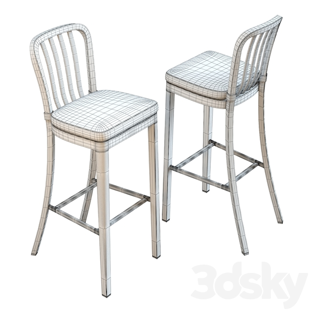 Crate & Barrel Delta Bar Stool