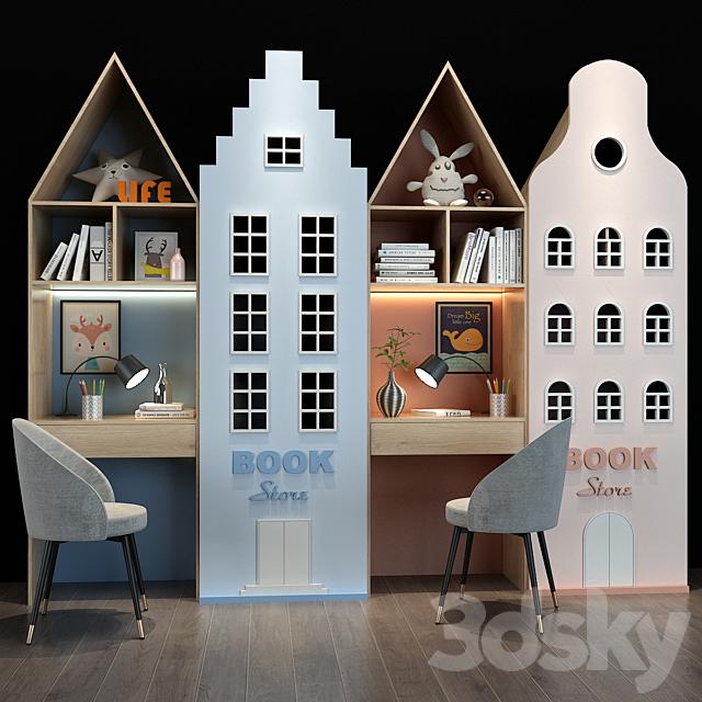 Furniture for a children 093