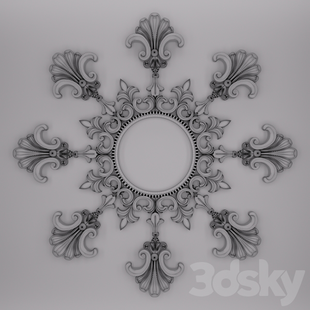 Trim Ornament 48