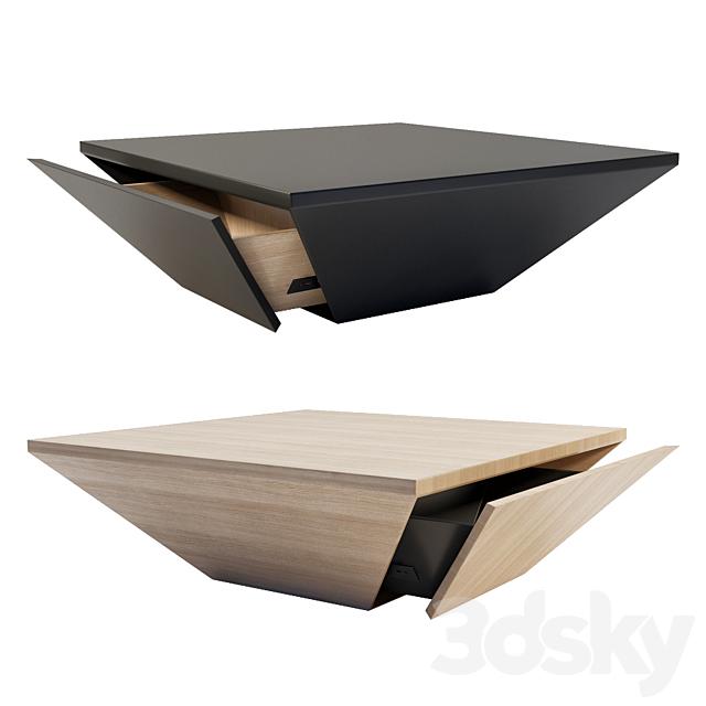 Drum Coffee Table - Homary