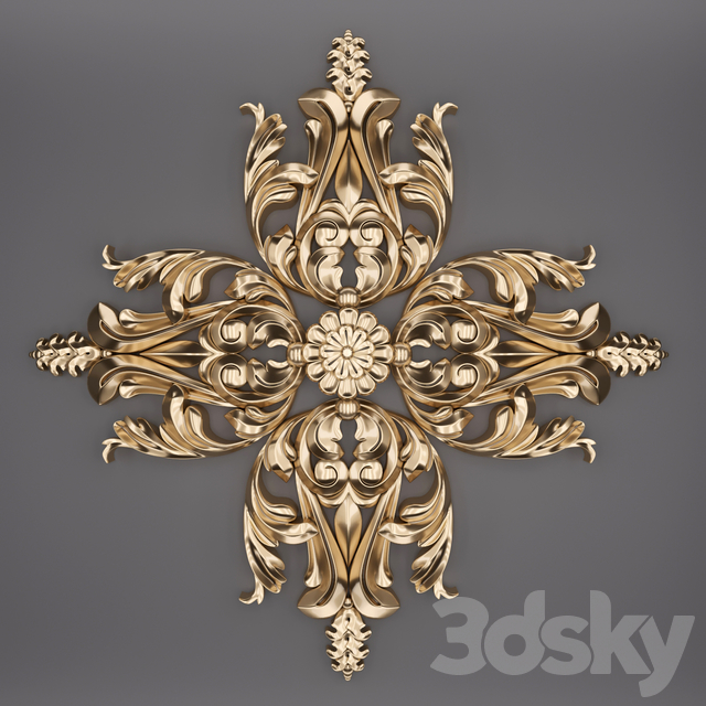Trim Ornament 52