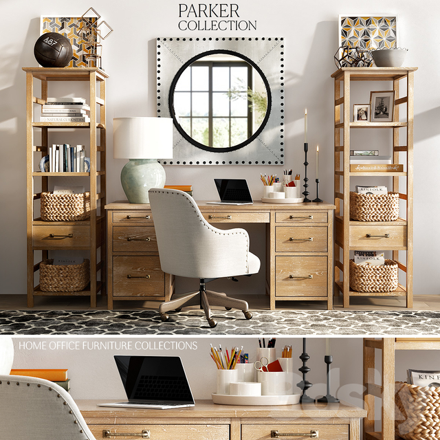 Models Office Furniture Pottery