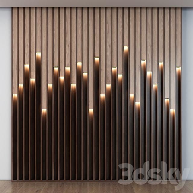 Wooden led panels 017