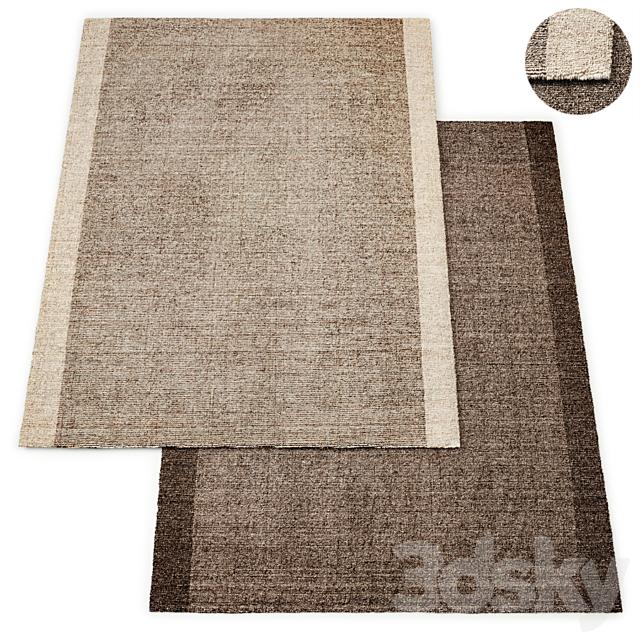 Martin Handwoven Wool Flatweave Rug RH Collection