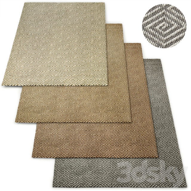 Custom Espiral Sisal Rug RH Collection