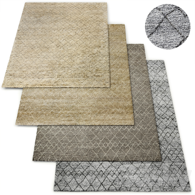 Verso Moroccan Hand-Knotted Wool Rug RH Collection