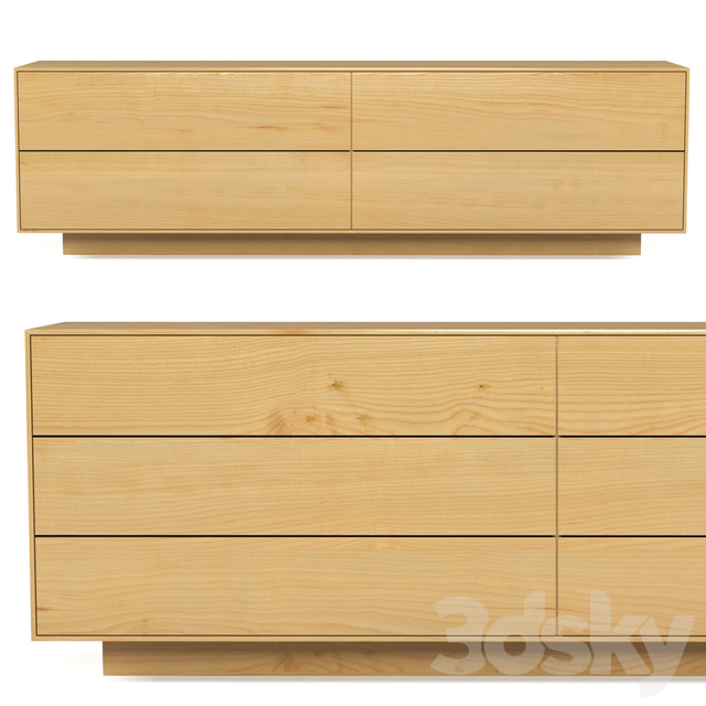 Seam Drawer Unit by Simon James