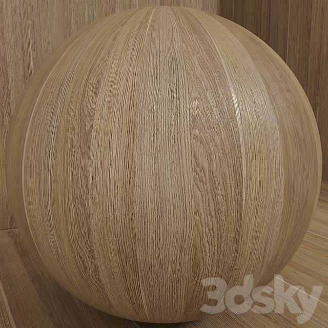 Wood / oak material (seamless) - set 87