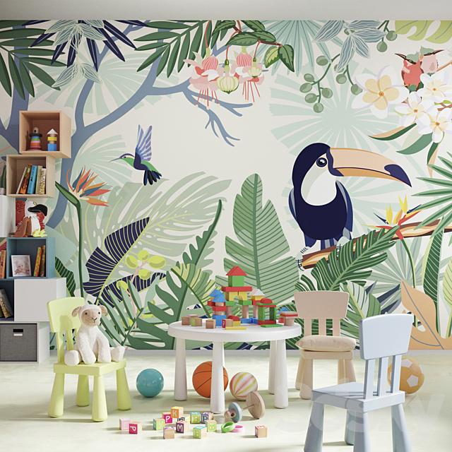 Designer Wallpaper Trip to tropics