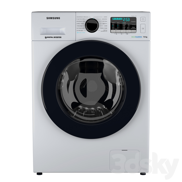 Samsung Washing Machine Ww70 J52 E02 W