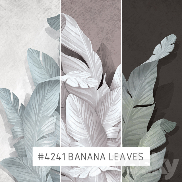 Creativille | Wallpapers | Banana leaves 4241