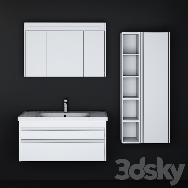 Modern Bathroom Cabinet | No. 041