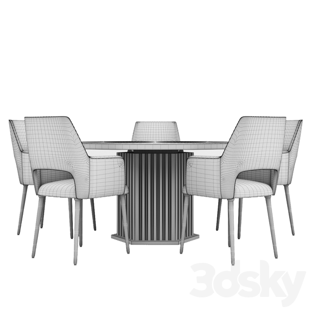 Dining table set 003