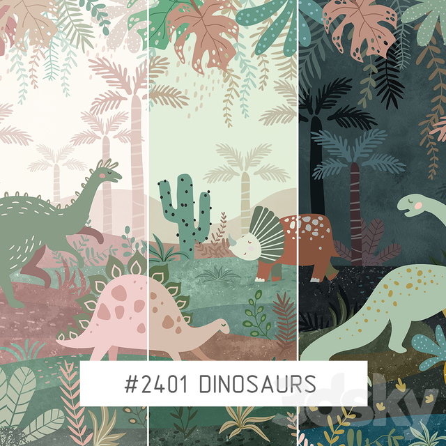 Creativille | Wallpapers | Dinosaurs 2401