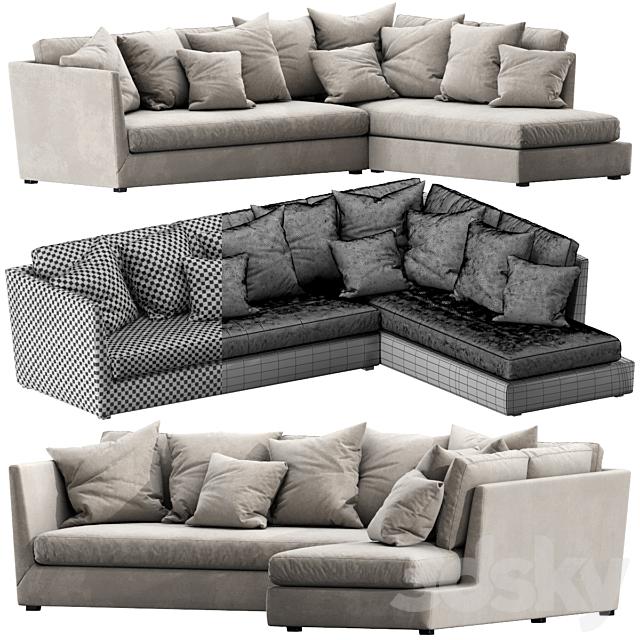 Flexform Victor Chaise Lounge