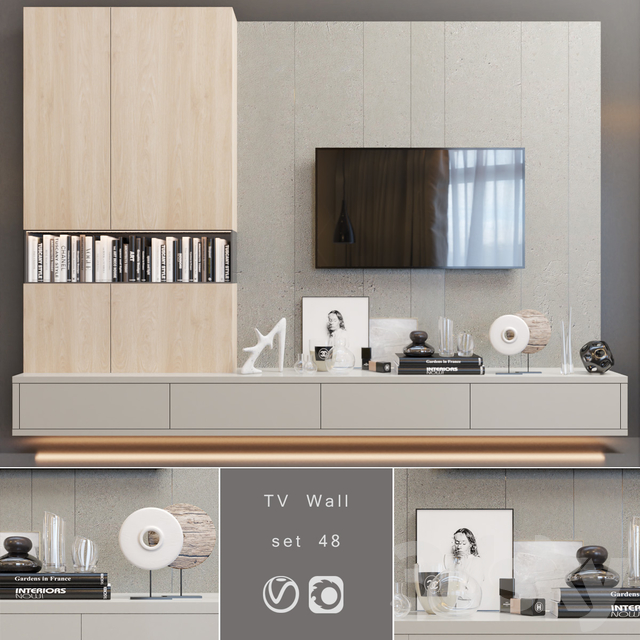 TV Wall | set 48