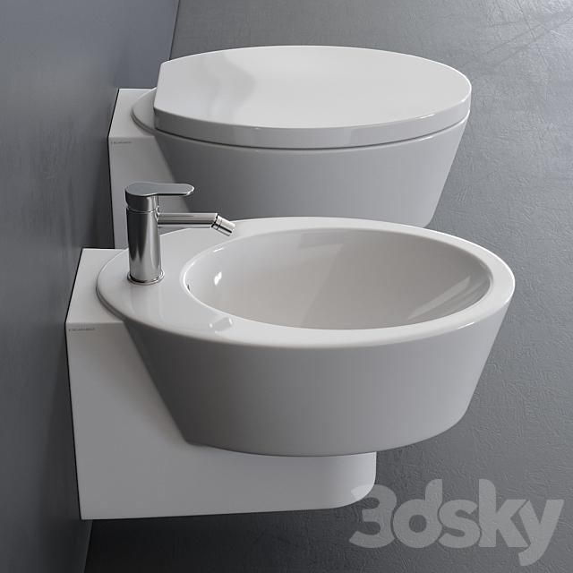 Scarabeo Ceramiche Wish Wall-Hung WC