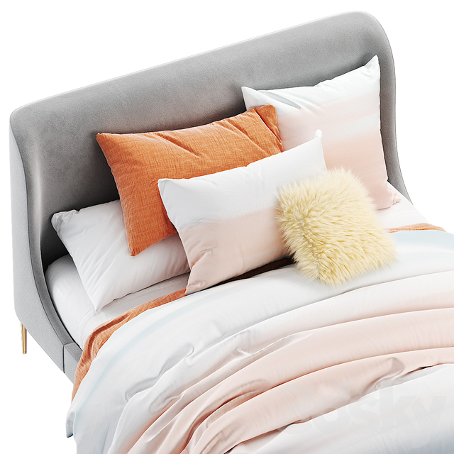 West elm lana bed