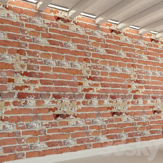 Brick wall. Old brick. 108