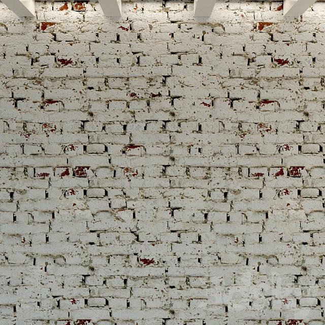 Brick wall. Old brick. 114