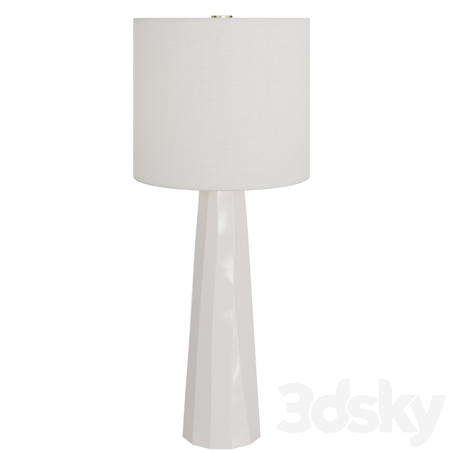 Baker prism table lamp