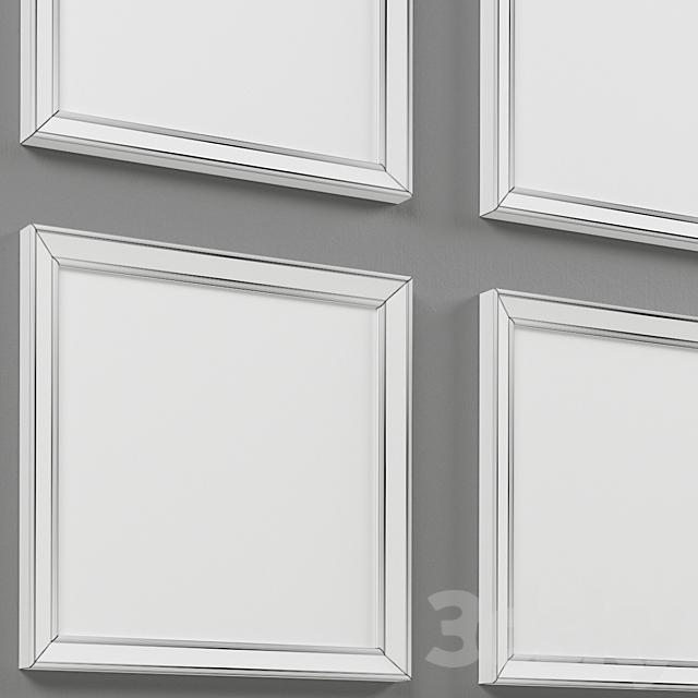 Pretty Bird 4 Piece Framed Print Set-007