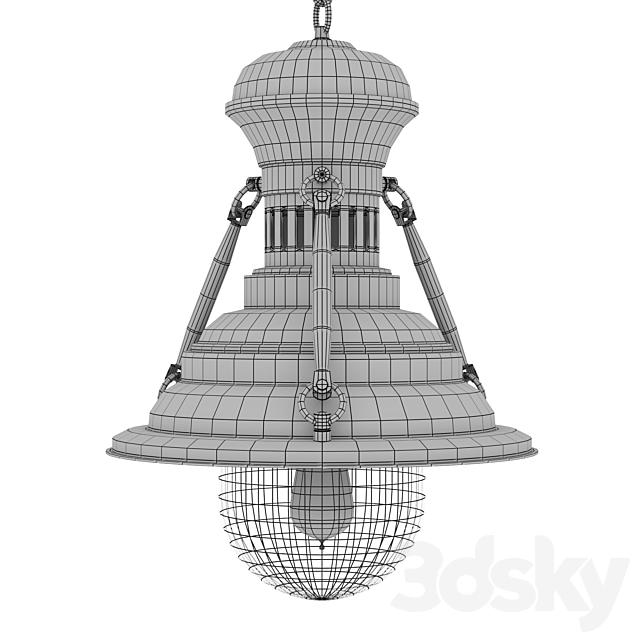 Industrial London pendant lamp