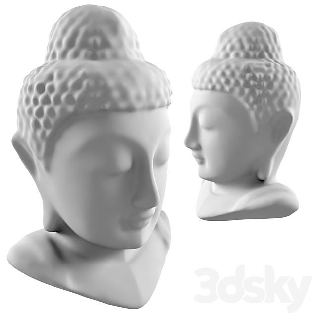 Models Sculpture Buddha Head