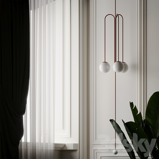 Pistil Chandelier by Michael Anastassiades