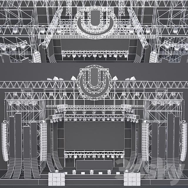 EDM Concert Stage