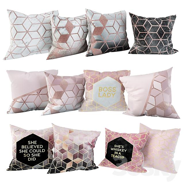 Nordic Geometry 2 Pillow Set