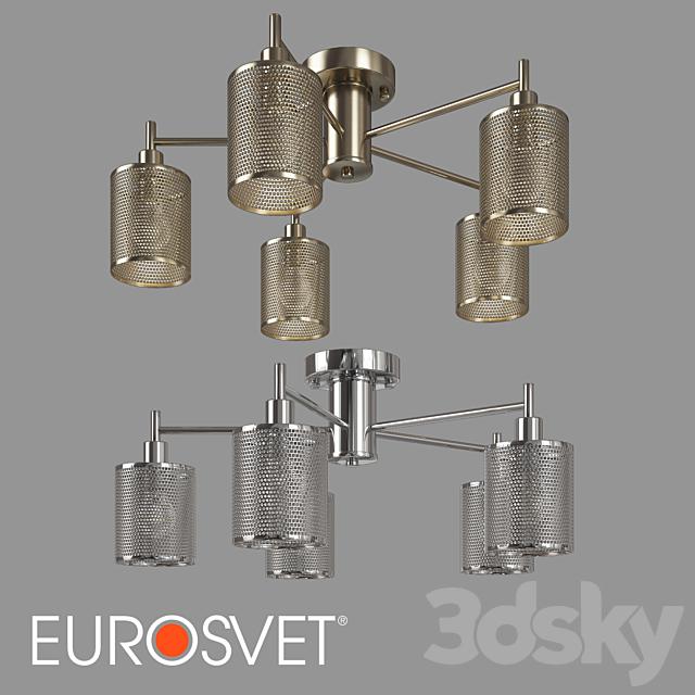 OM Chandelier in the loft style Eurosvet 70109/5 Tela