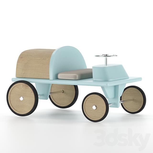 baby car blue