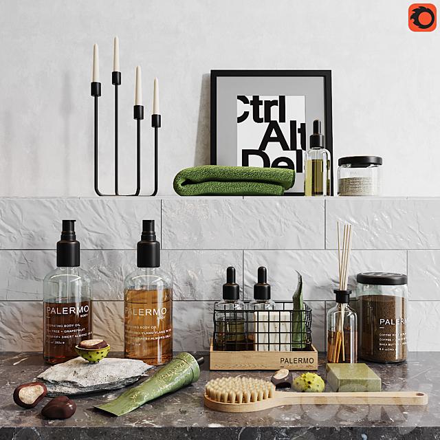 Decorative set for a bath_1