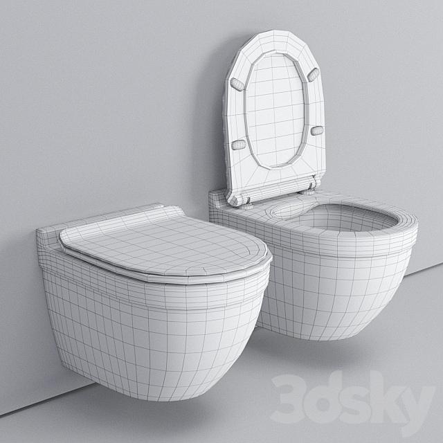 Wall hung toilet Cloud